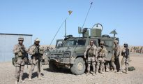 Militares españoles en Irak.