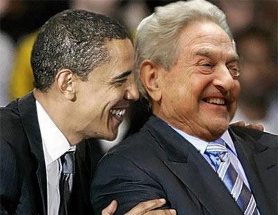 Obama y Soros.