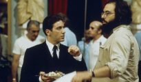 Al Pacino y Coppola, durante el rodaje.