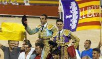 Ponce y Talavante, el pasado verano en Palma