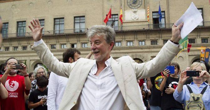 Pedro Santisteve, elegido alcalde de Zaragoza