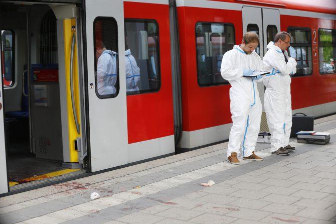 Ataque terrorista en la estación ferroviaria de Düsseldorf