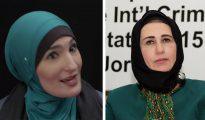 La prominente feminista palestino-americana Linda Sarsur (izquierda) muestra preocupación por los derechos de las mujeres sólo cuando puede arremeter contra Israel. Sarsur no ha dicho una palabra para defender a mujeres como la luchadora contra la corrupción Nayat Abu Baker (derecha), a la que el presidente de la Autoridad Palestina, Mahmud Abás, ha despojado de su inmunidad parlamentaria y expulsado de la facción gobernante Fatah.