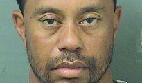 Foto de la ficha de la detención de Tiger Woods