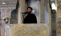 El líder del Estado Islámico, Abu Bakr Al Baghdadi. 5 de julio de 2014.