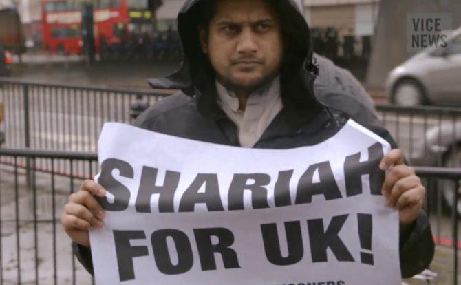 Abu Rumaysah reivindica la shariah en el Reino Unido con total impunidad.