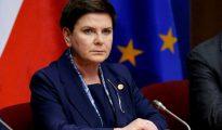 La primera ministra polaca, Beata Szydlo.