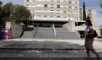 Entrada principal del Hospital Gregorio Marañón
