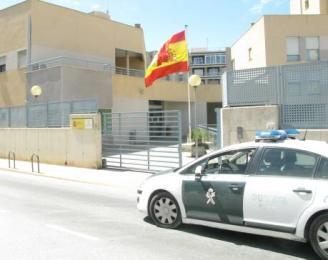 El cuartel de la Guardia Civil de Santa Pola