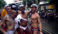 Desfile del orgullo gay en Barcelona.
