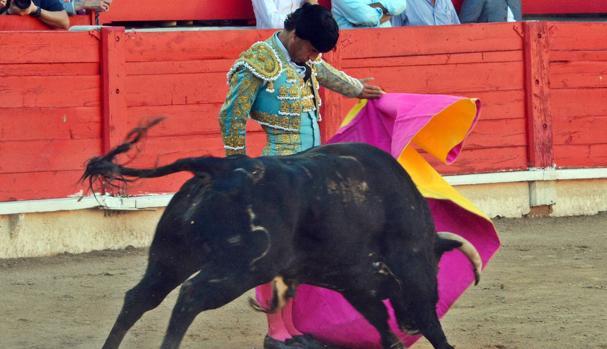 Iván Fandiño, el pasado domingo en Inca