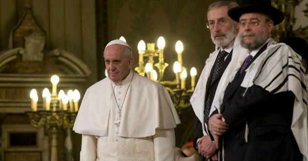 """Matrimonio Catolico Y Judio : El papa francisco afirma que """"todas las religiones"""