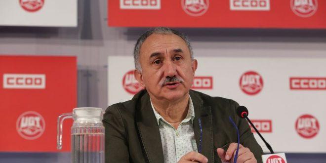 Pepe Álvarez, líder de UGT.