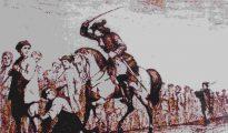Cadena de presos gitanos en el siglo XVIII