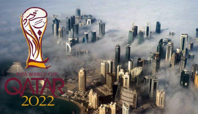 Logo de Qatar 2022.