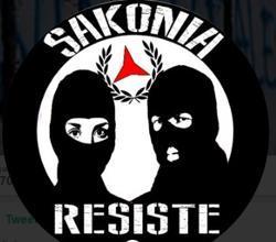 Logo principal de Sakonia Resiste