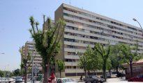 Una imagen de barrio de la Mina, en Sant Adrià