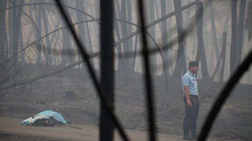 Una de las víctimas del incendio en Portugal
