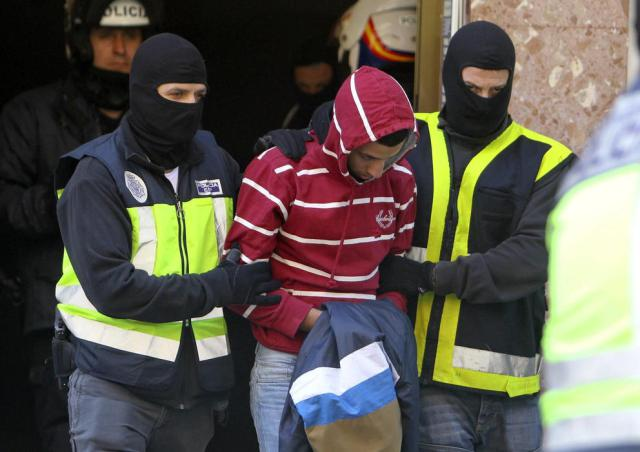 Operación policial contra el yihadismo.