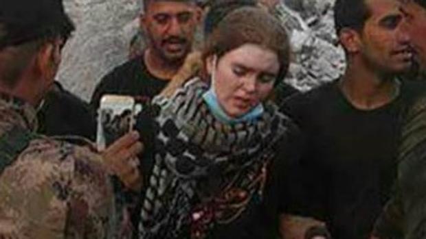 La adolescente de 16 años ha sido detenida por el ejército iraquí