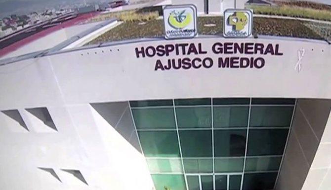El Hospital Ajusco Medio al Sur de la Ciudad de México.