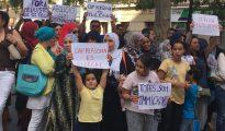 Imagen de la concentración (InfoTalQuall)