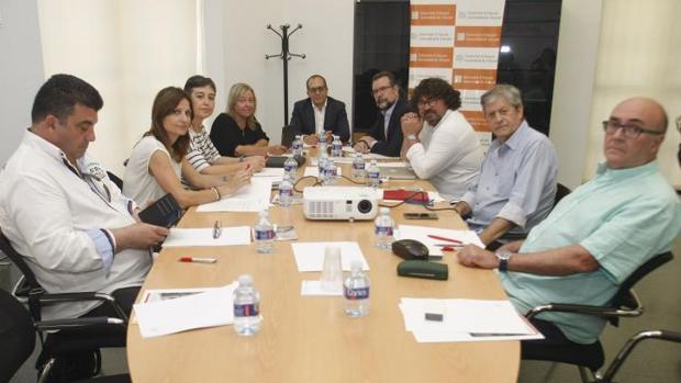 Reunión del Consejo Rector de la Corporación Valenciana de Medios de Comunicación (CVMC)