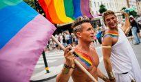 Día del Orgullo Gay en Estocolmo.
