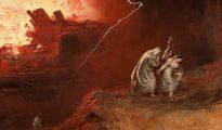 John Martin: La destrucción de Sodoma y Gomorra, 1832