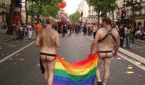 Imagen del orgullo gay en Madrid.