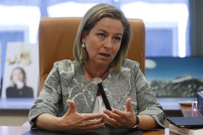 La portavoz de Coalición Canaria en el Congreso, Ana Oramas