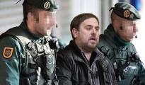 Fotomontaje de Oriol Junqueras detenido por la Guardia Civil