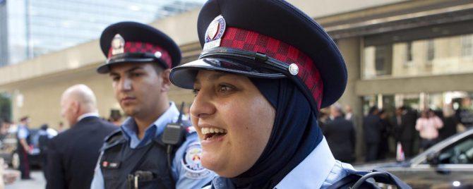 De la Real Policía Montada de Canadá a la actual.