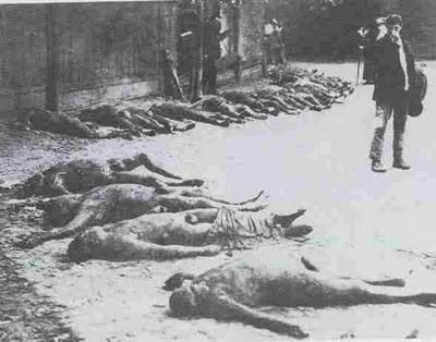 Víctimas de una de las innumerables purgas de Stalin.