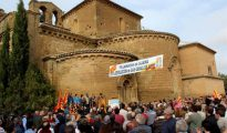 Aragoneses exigen la devolución de los bienes de Sijena.