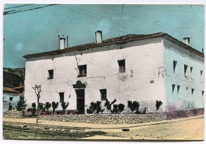 Antigua casa.cuartel de la Guardia Civil en Tragacete (Cuenca).