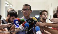El portavoz de los Mossos d'Esquadra, Albert Oliva