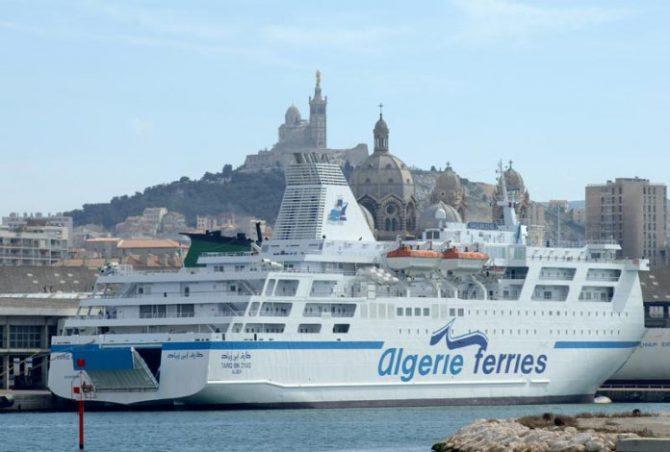 imagen ilustrativa de un barco de Algérie Ferries.