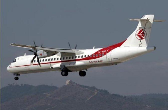 El avión que quedó al mando del niño.
