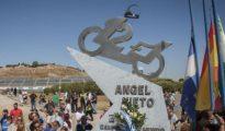 Homenaje a Ángel Nieto en el circuito de Jerez.