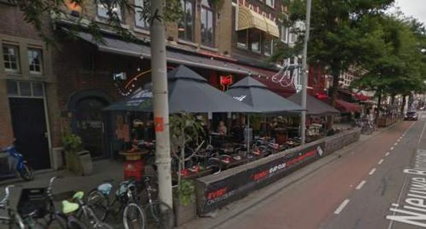 Bar Rtown, donde s eiba a celebrar el concierto