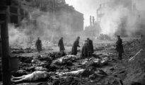 Dresde tras los bombardeos