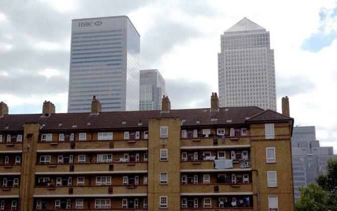 Edificio de Tower Hamlets (Londres) donde vivió la pequeña.