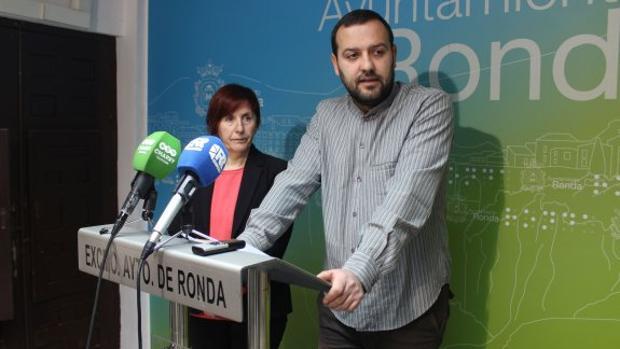 El concejal de Izquierda Unida en Ronda (Málaga), Álvaro Carreño - DIARIOSUR