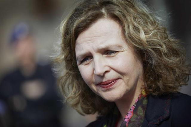 Edith Schippers, ministra de Sanidad.