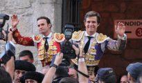 Antonio Ferrera y El Juli se marchan a hombros