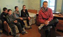 Una de las familias alemanas en Rusia