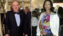 Don Juan Carlos y Marta Gayá