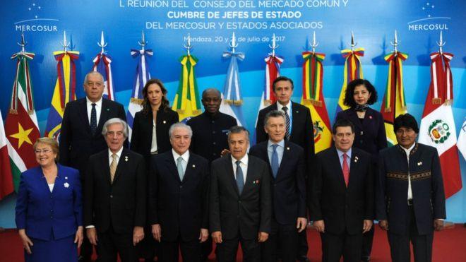 Los miembros del Mercosur se reunieron el julio pasado y enviaron una carta a Venezuela para abrir el diálogo.