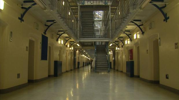 Pasillos interiores de la cárcel de The Mount